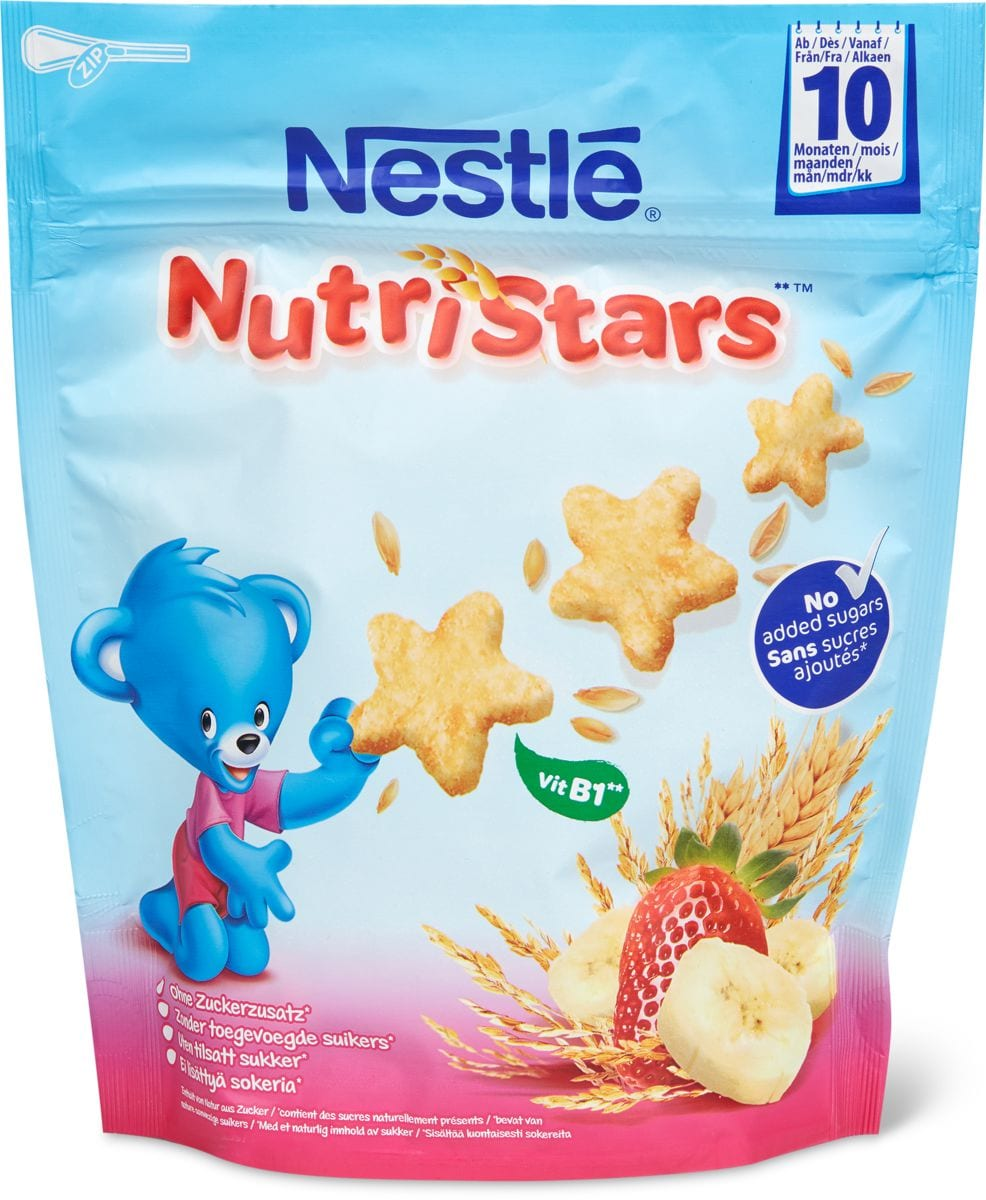 Nestlé Nutri Stars banana fragola