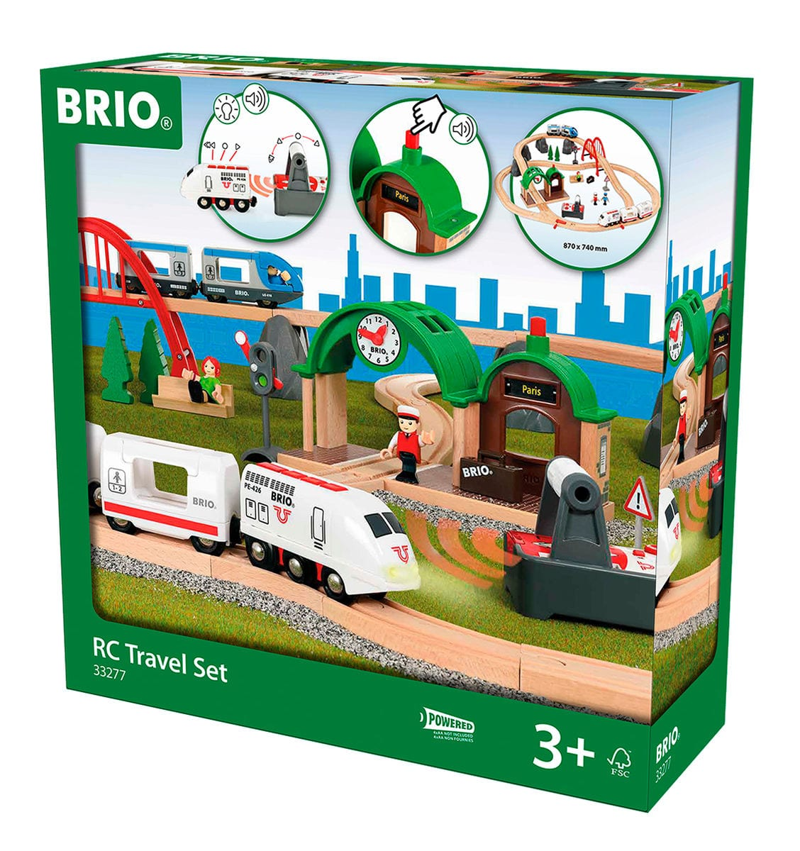 BRIO Countryside Railway Set