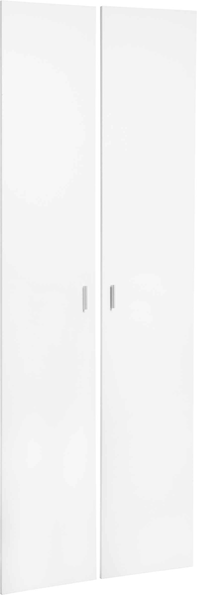 SAX Lot de portes hautes blanc, pour l'étagère large