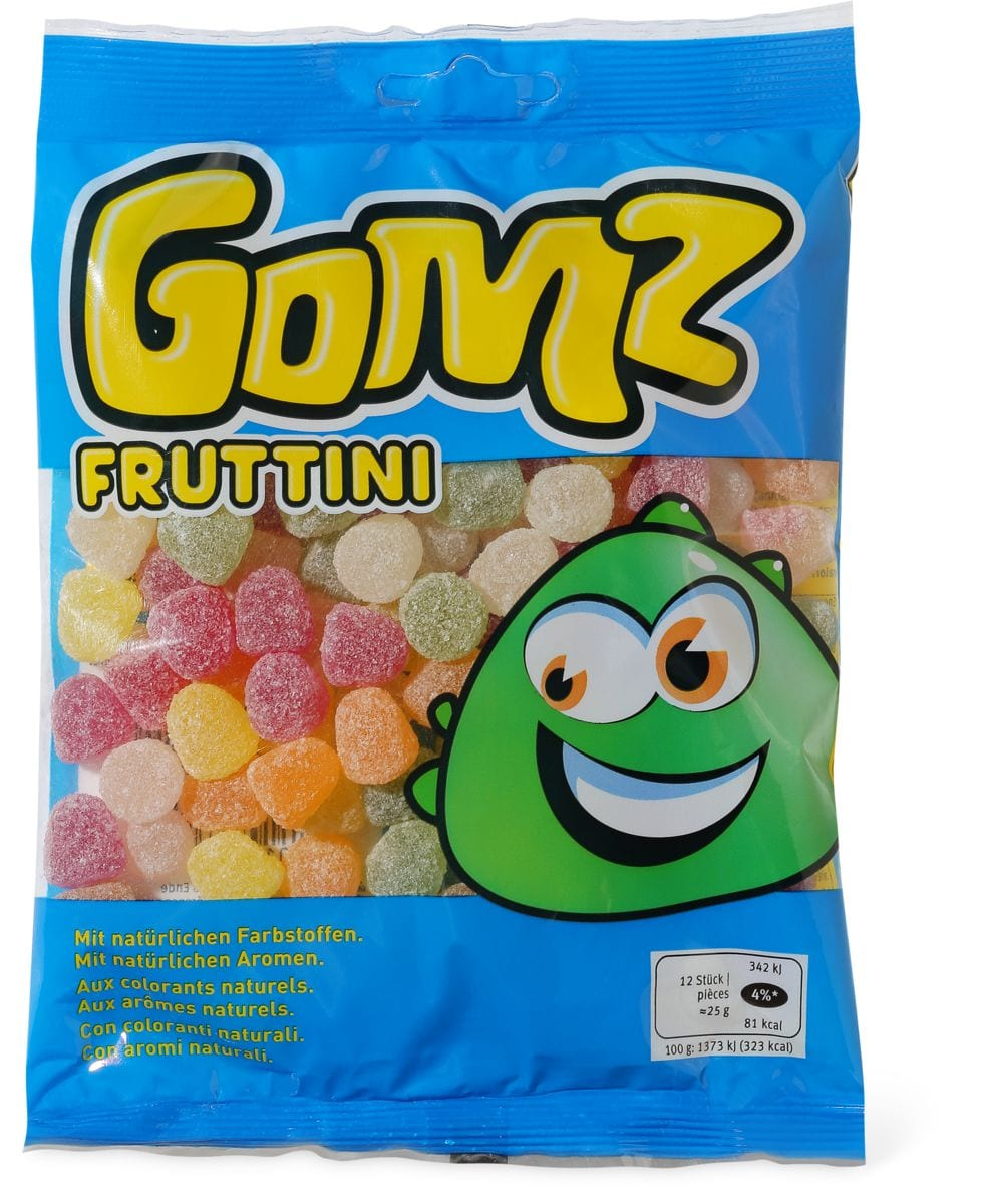 Gomz Fruttini Confiserie gélifiée