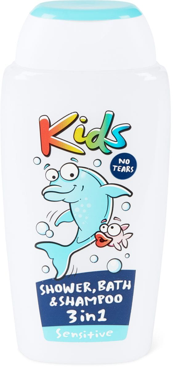 Kids Shower, Bath & Shampoo 3in1 Sensitive