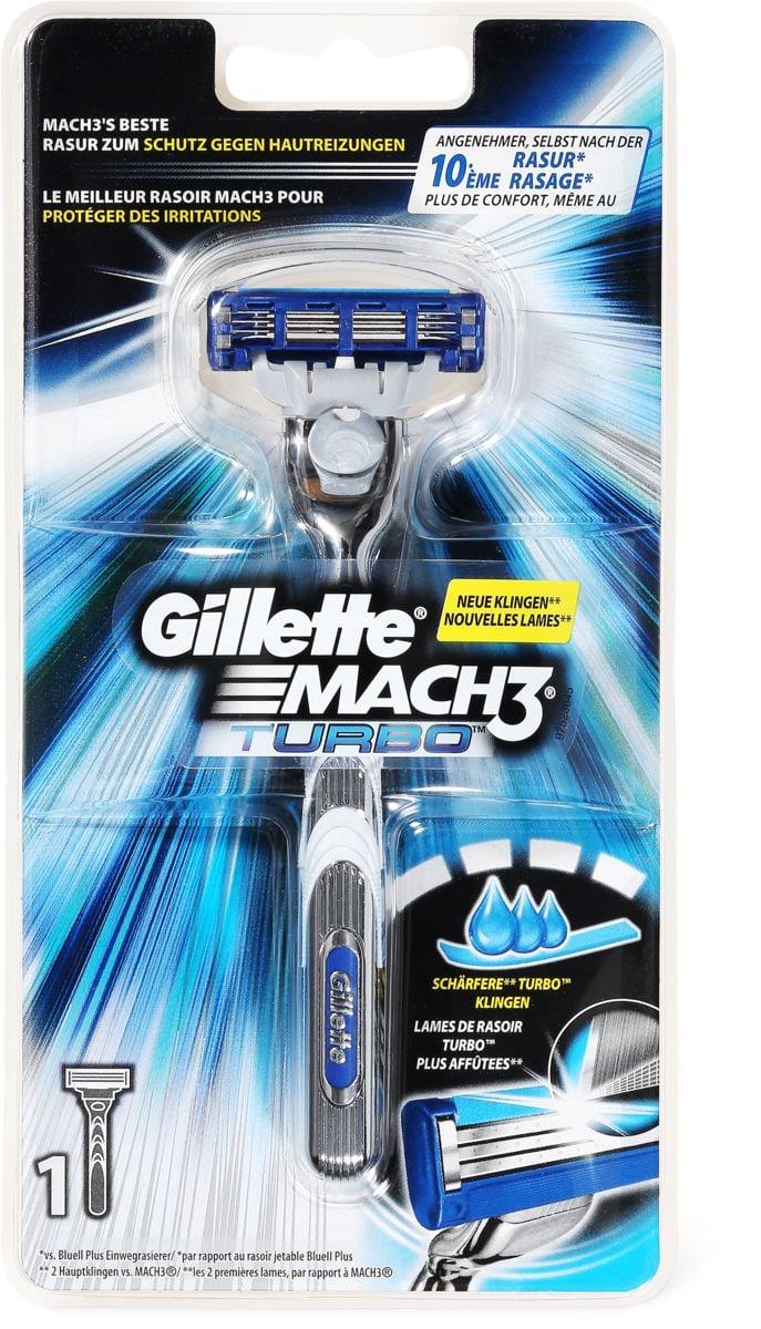 Gillette Mach3 Turbo Rasoio