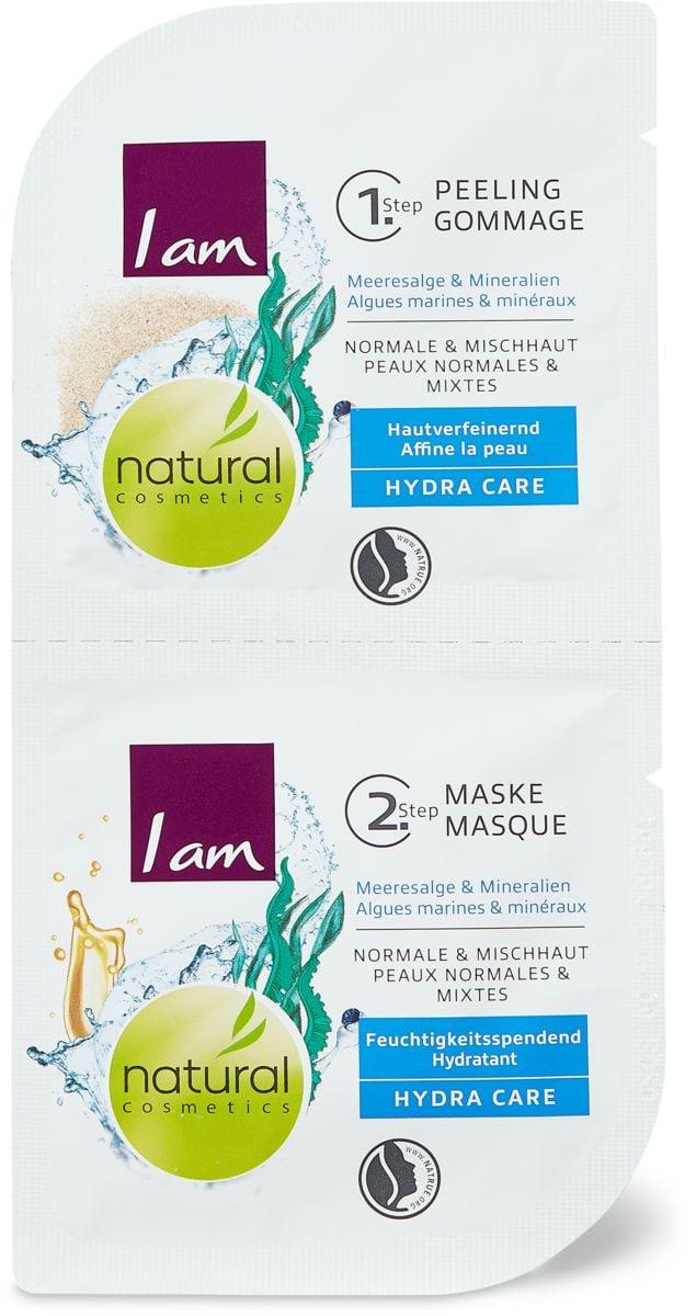 I am Natural Cosmetics Hydra Care Feuchtigkeitsmaske & Peeling