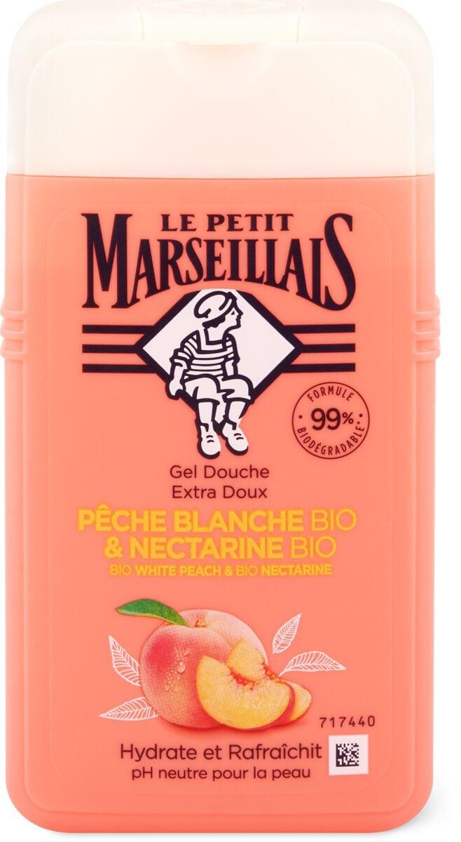 Le Petit Marseillais Douche peche blanche