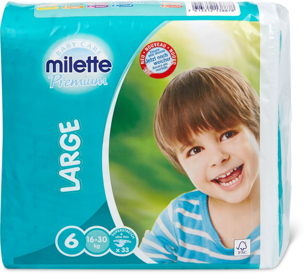 Milette Large 6, 16-30kg
