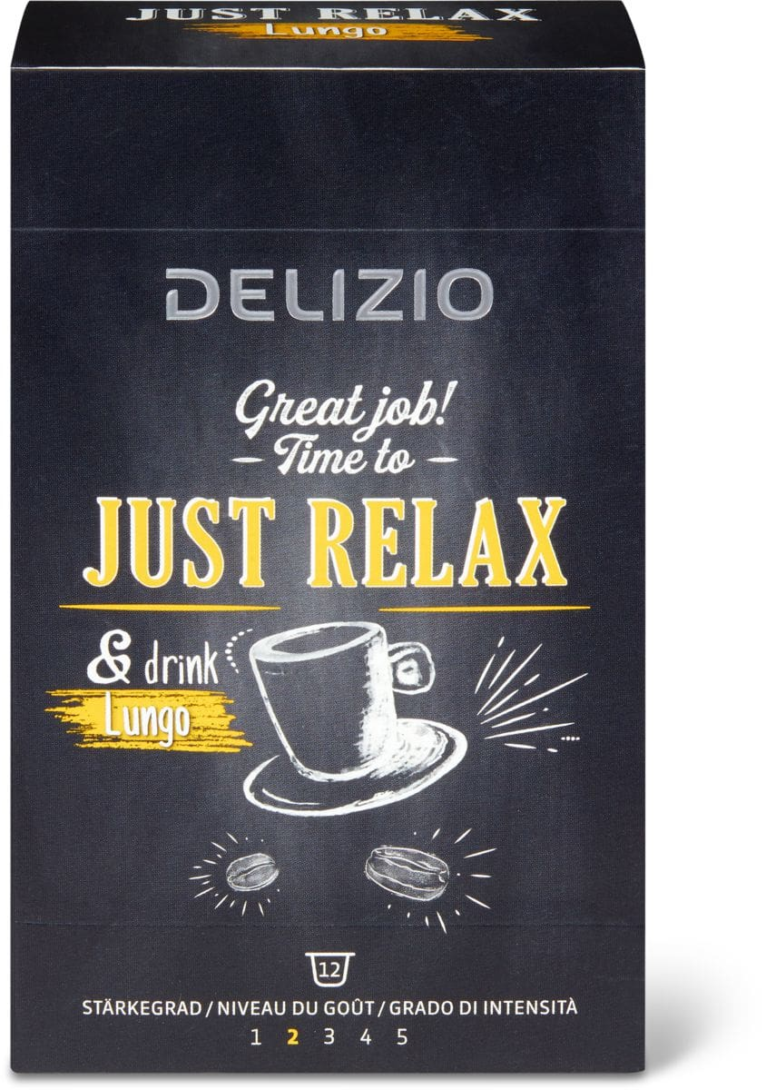 Delizio just relax Lungo 12 cap.
