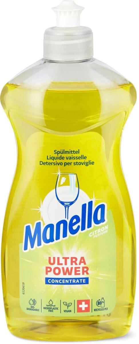 Manella Geschirrspülmittel Citron