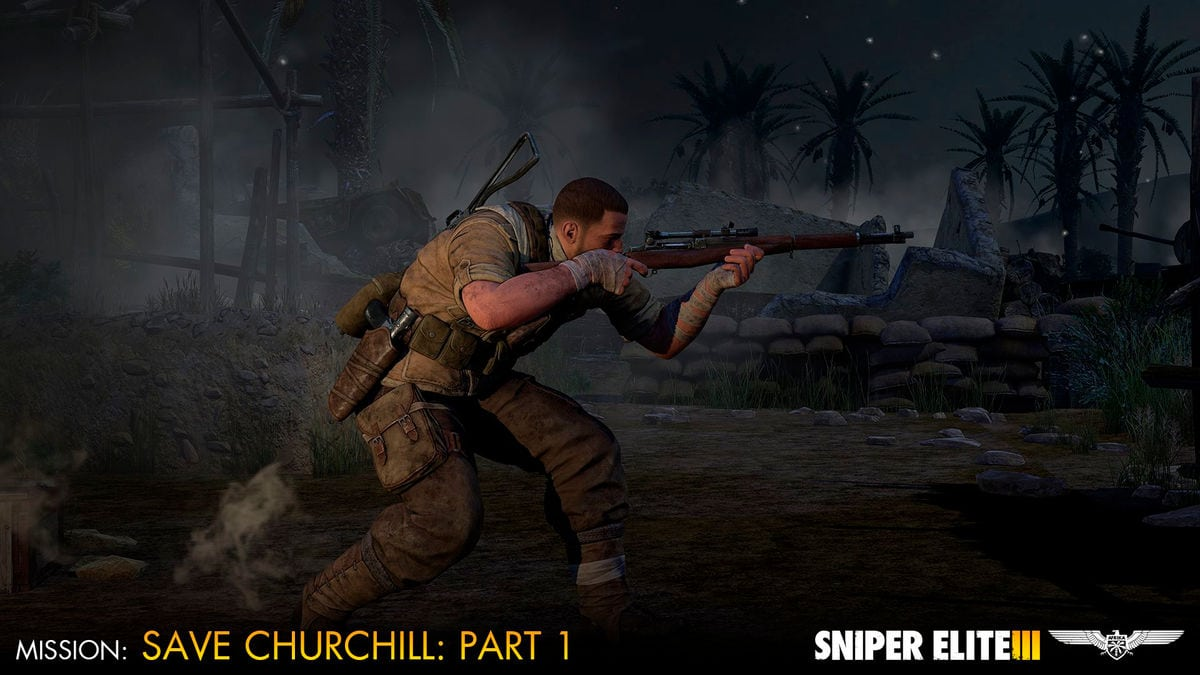 PC - Sniper Elite 3 - Save Churchill Part 1: In Shadows Download (ESD)