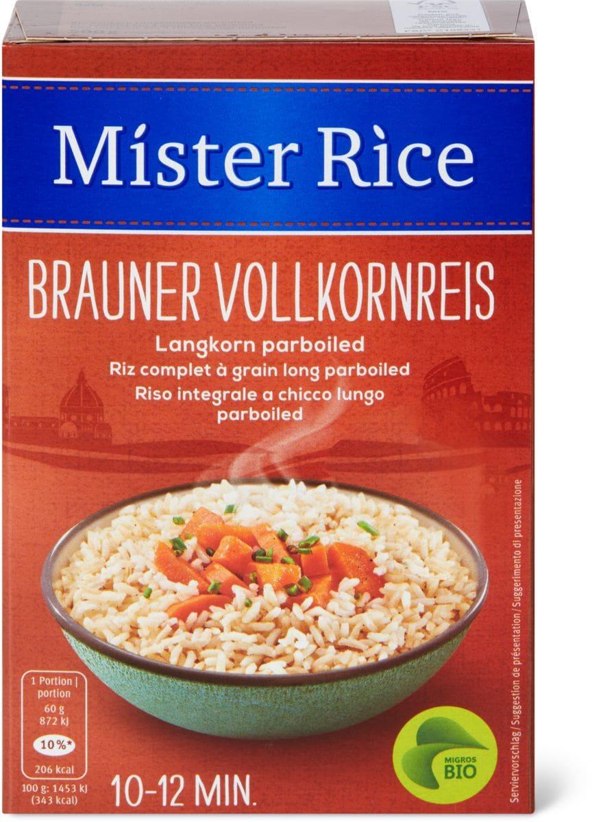 Bio Mister Rice Brauner Vollkornreis