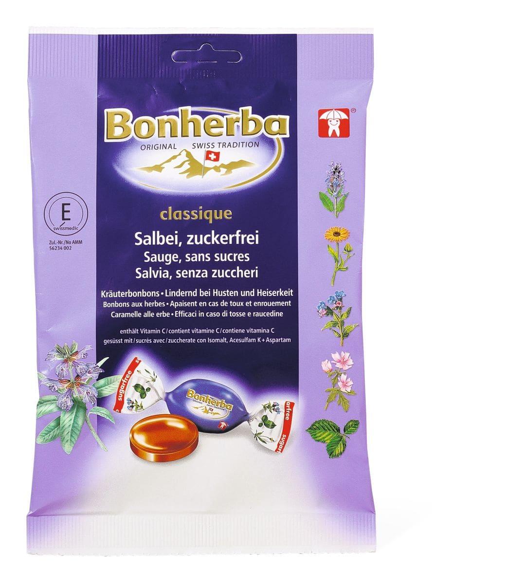 Bonherba Kräuterbonbons mit Salbei