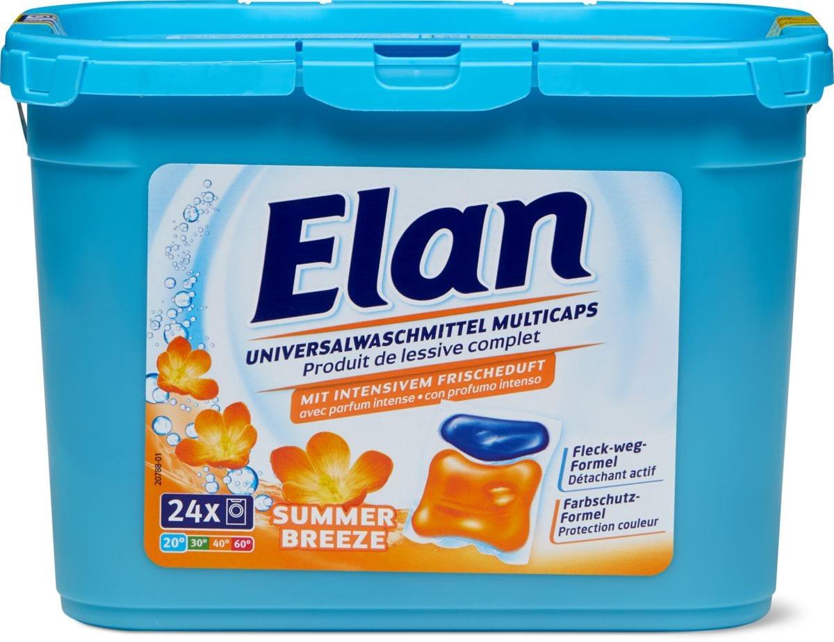 Elan Waschmittel Summer Breeze Caps