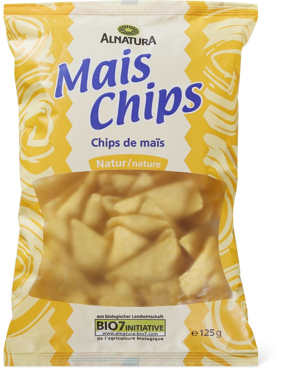 Alnatura Chips mais al naturale