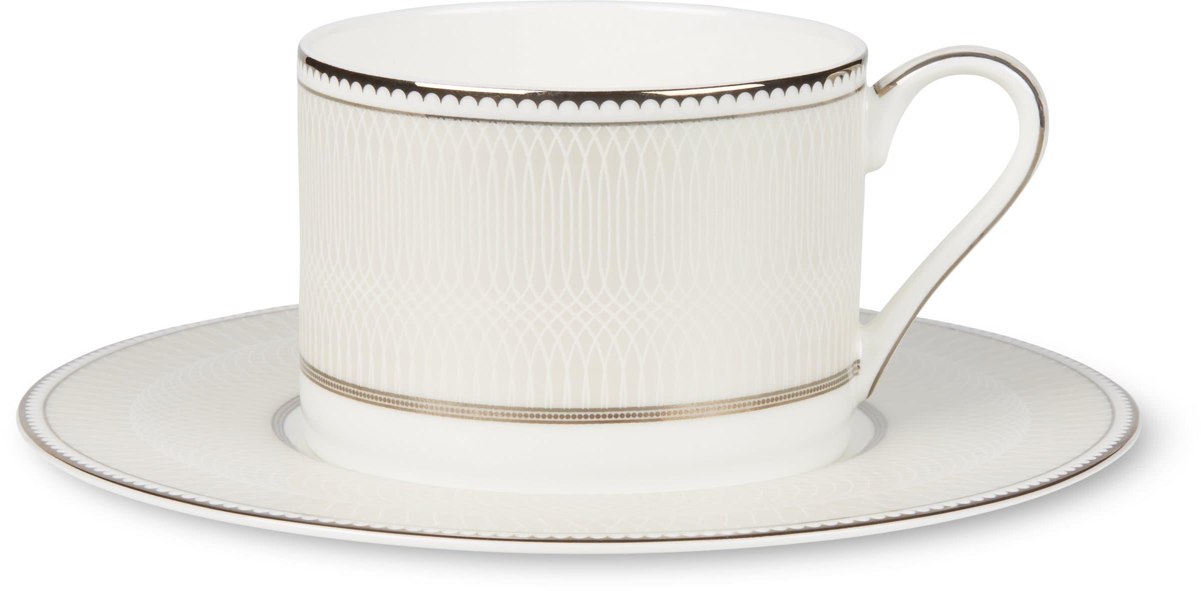 Cucina & Tavola NOBLESSE Kaffeetasse mit Unterteller