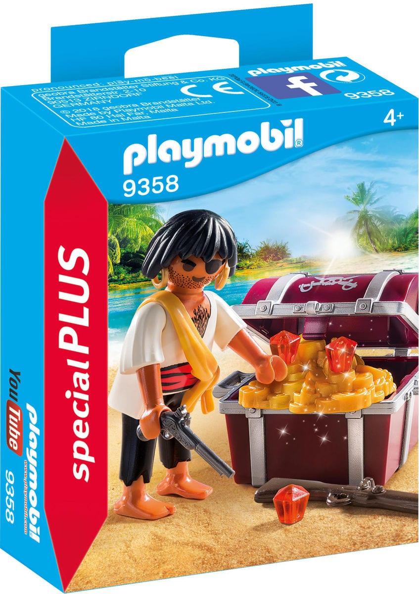 Playmobil Pirata con scrigno del tesoro