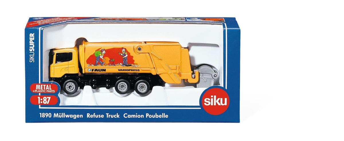 Siku Müllwagen 1:87 Modellfahrzeug