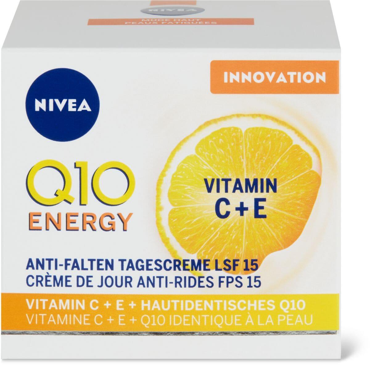 Nivea Q10Plus Energy Tag