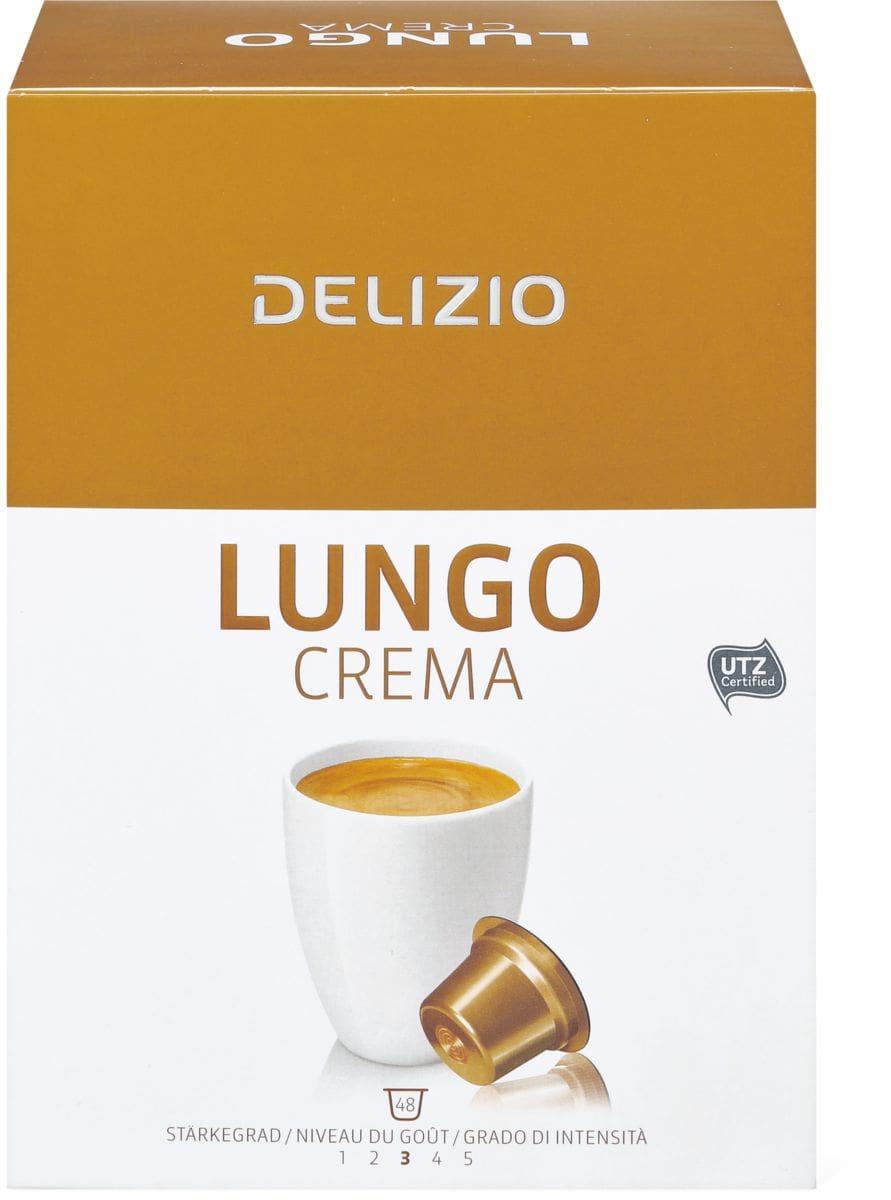 Delizio Lungo Crema 48 Kapseln