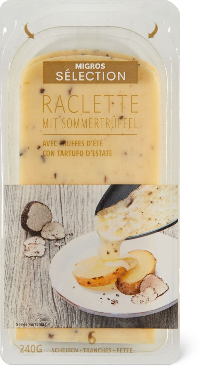 Sélection Raclette tartufo