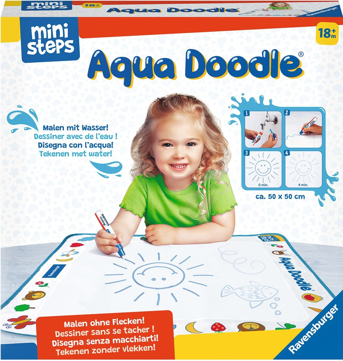 Ravensburger Ministeps Aqua Doodle® Colorare