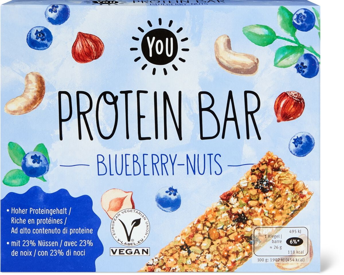 YOU Protein Bar Blueberry