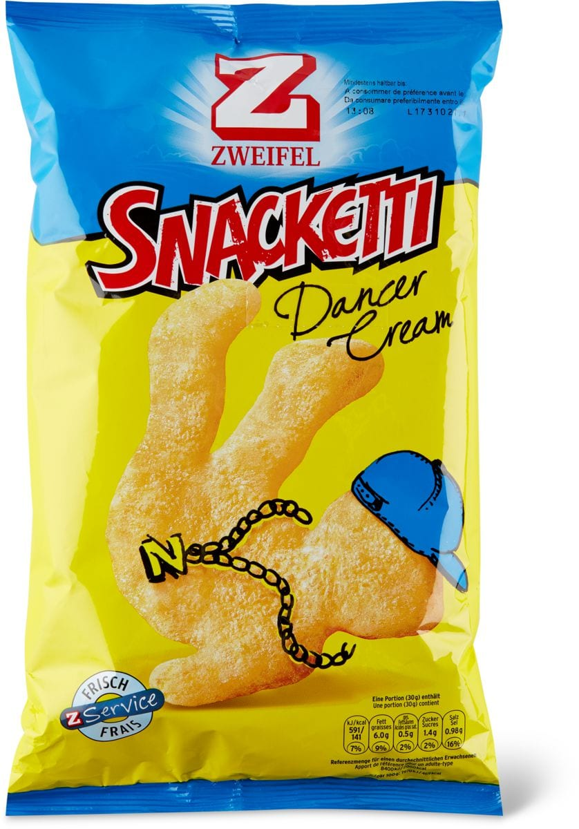 Zweifel Snacketti Dancer
