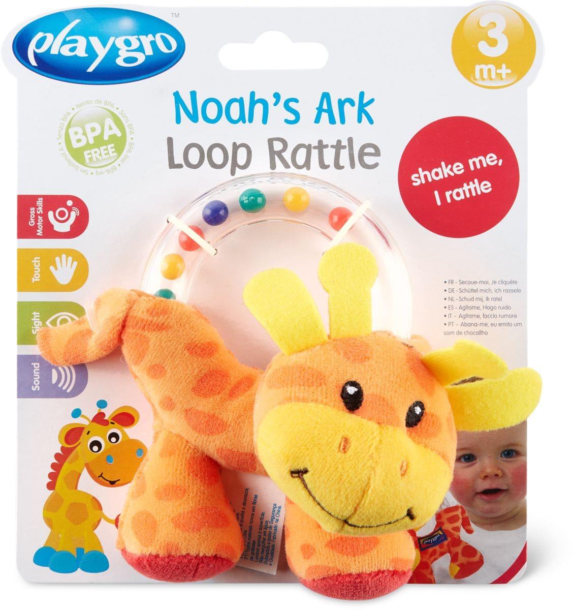 Playgro Noah's Ark Loop Rattle