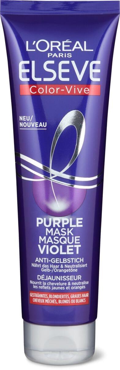 L'Oréal Elseve Purple Maschera