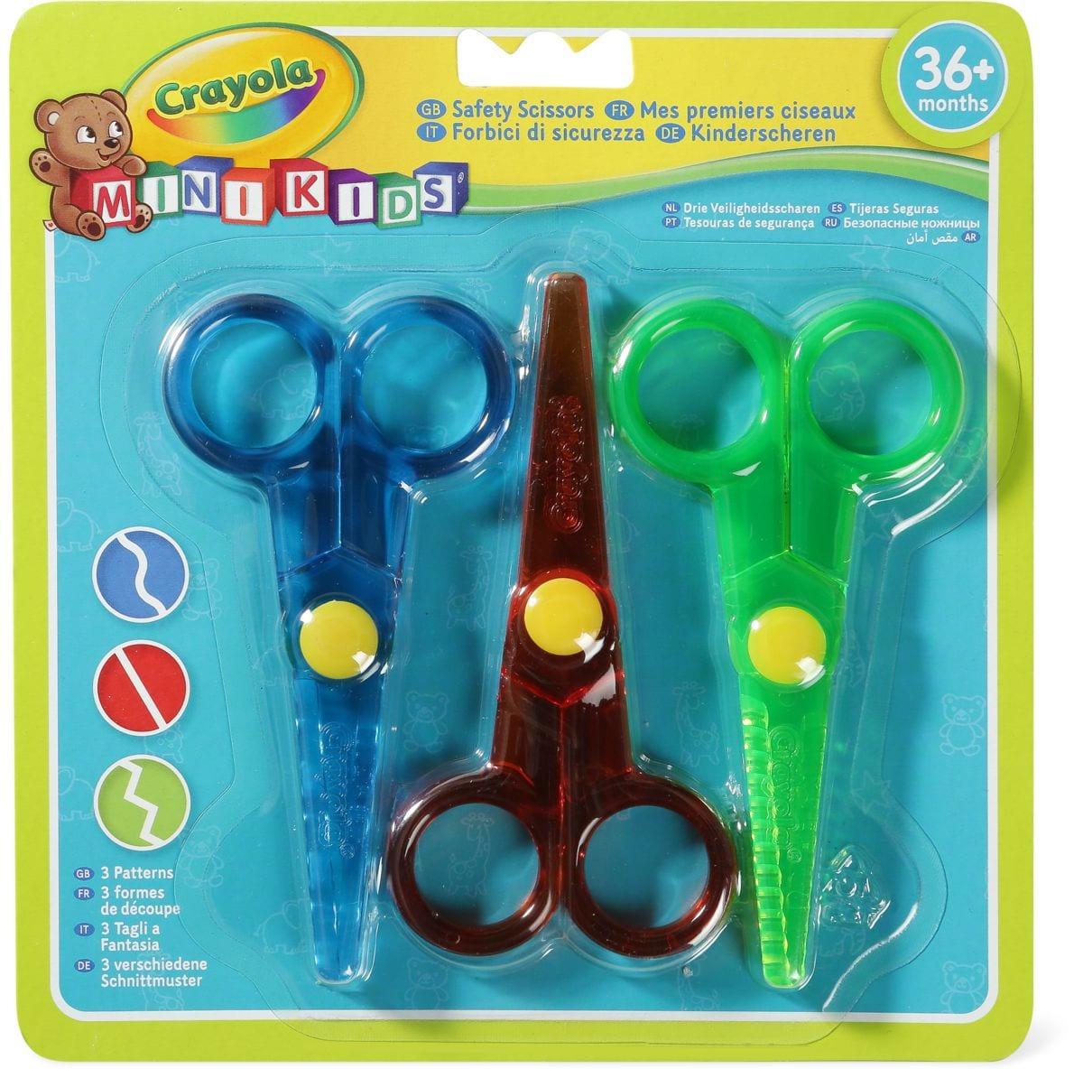 3x forbici per bambini