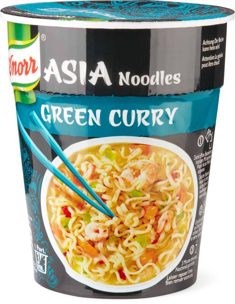 Knorr Asia noodles Green curry