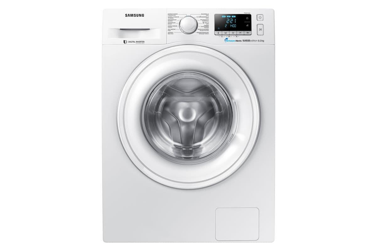 samsung waschmaschine ww80j5436dw ws migros. Black Bedroom Furniture Sets. Home Design Ideas