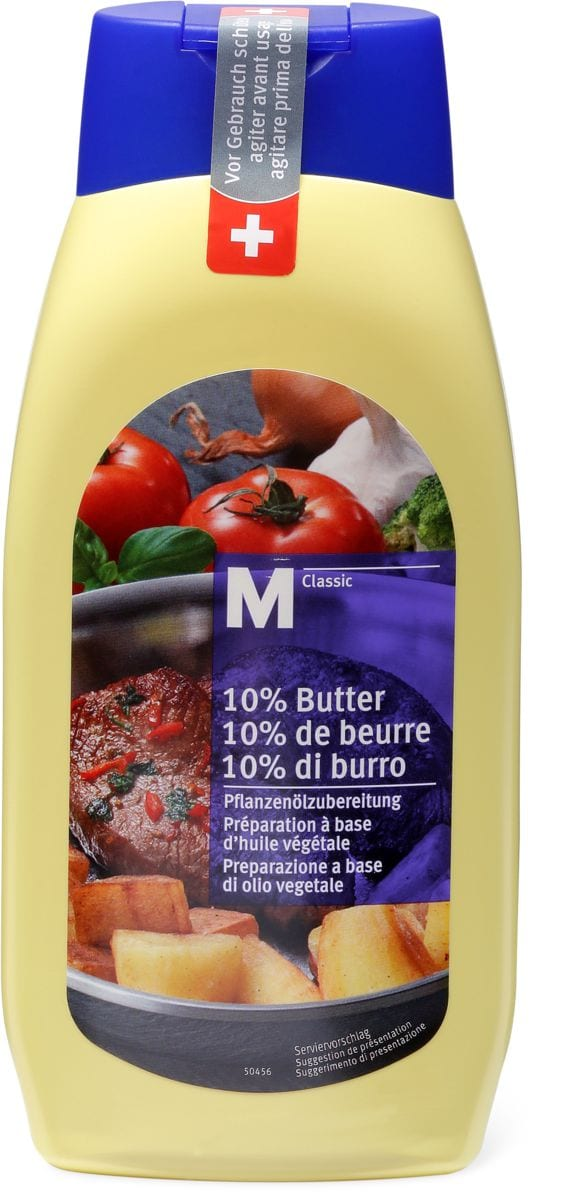 M-Classic mit 10% Butter