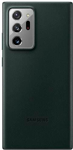 Samsung Leather Cover Note 20 Ultra black Hülle
