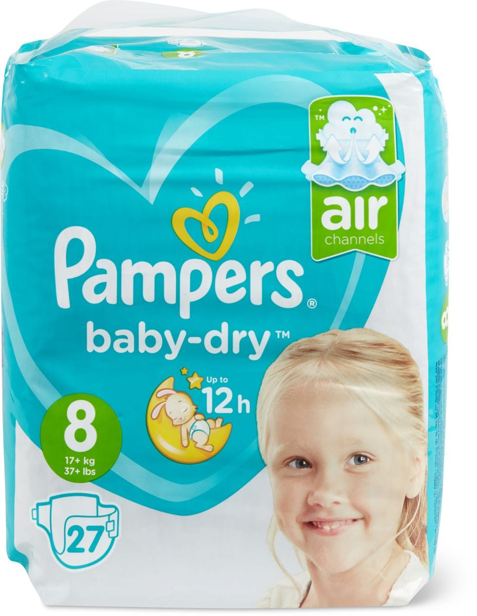 Pampers Baby Dry Gr. 8