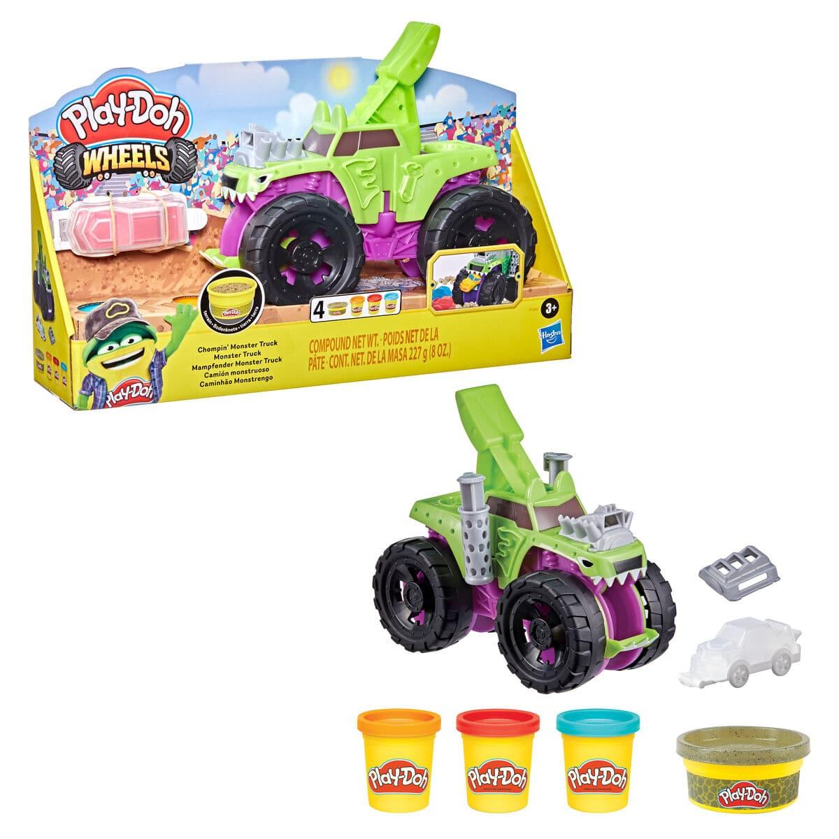 Play-Doh Wheels: Mampfender Monster Truck Modelieren