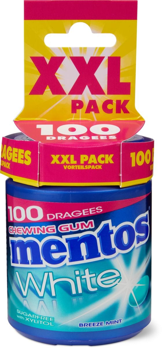 Mentos gum Breeze mint