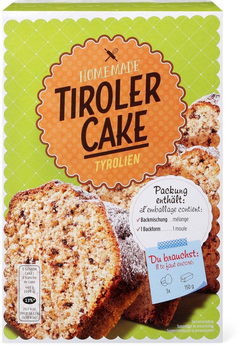 Homemade Tiroler Cake