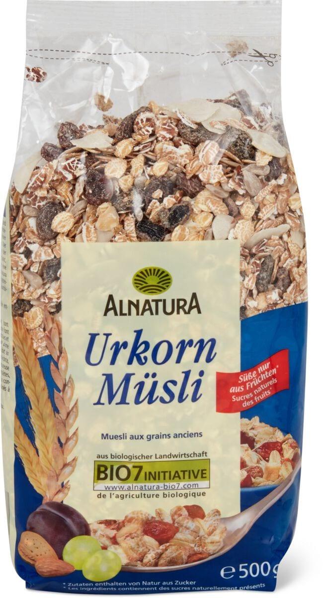 Alnatura müsli ai cereali integrali