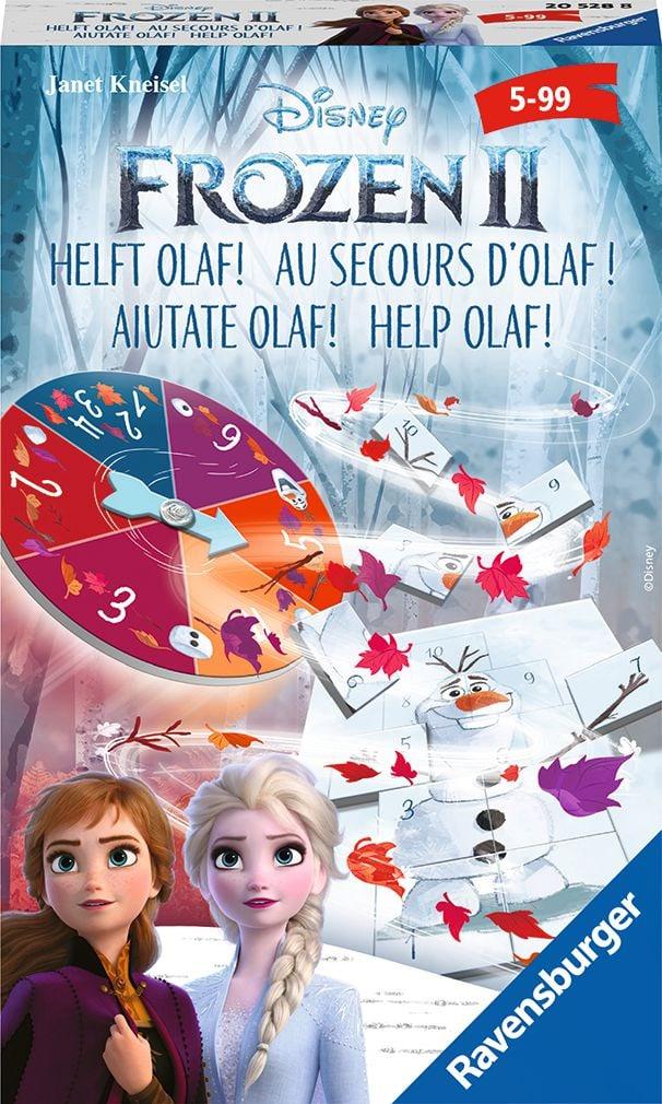 Ravensburger RVB Frozen 2 Mitbringspiel Gesellschaftsspiel