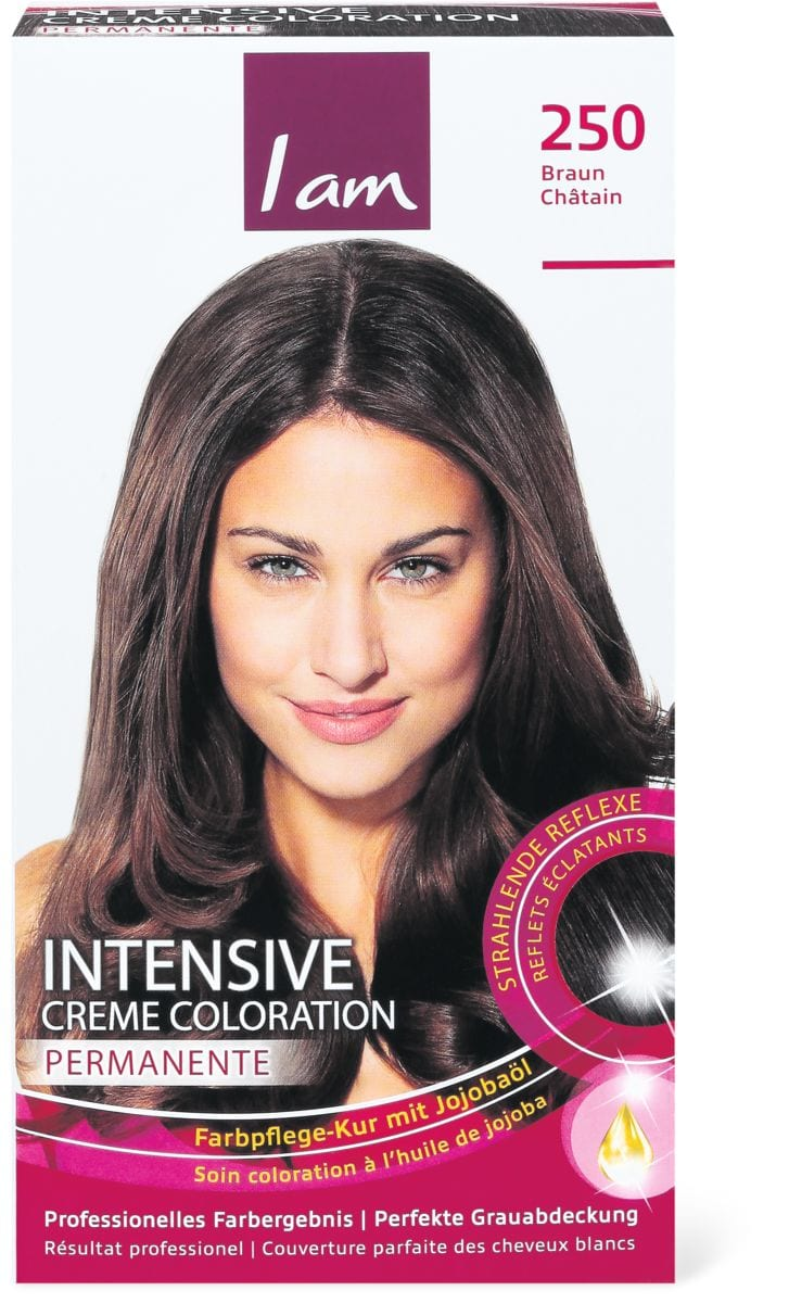 I am Intensiv Creme Coloration 250 castano