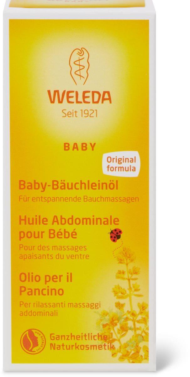 Weleda Huile Abdominale pour Bébé