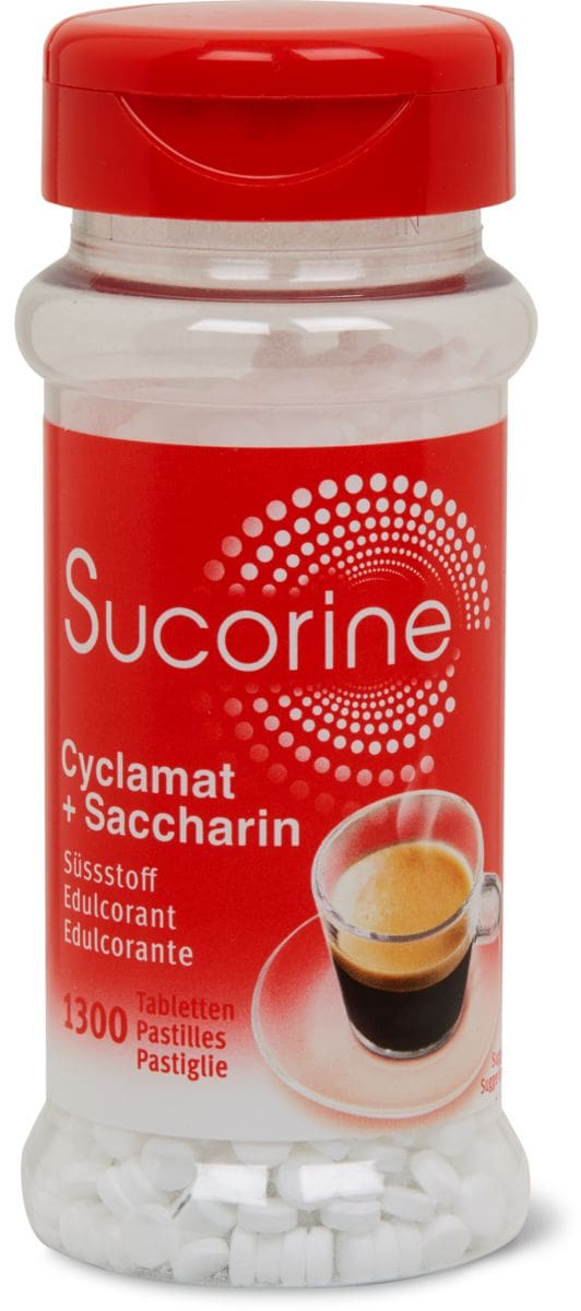 Sucorine Cyclamat + Saccharin