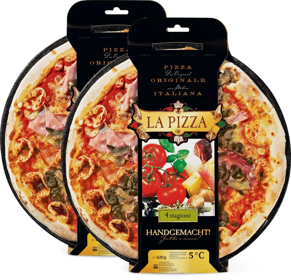 La Pizza im Duo-Pack