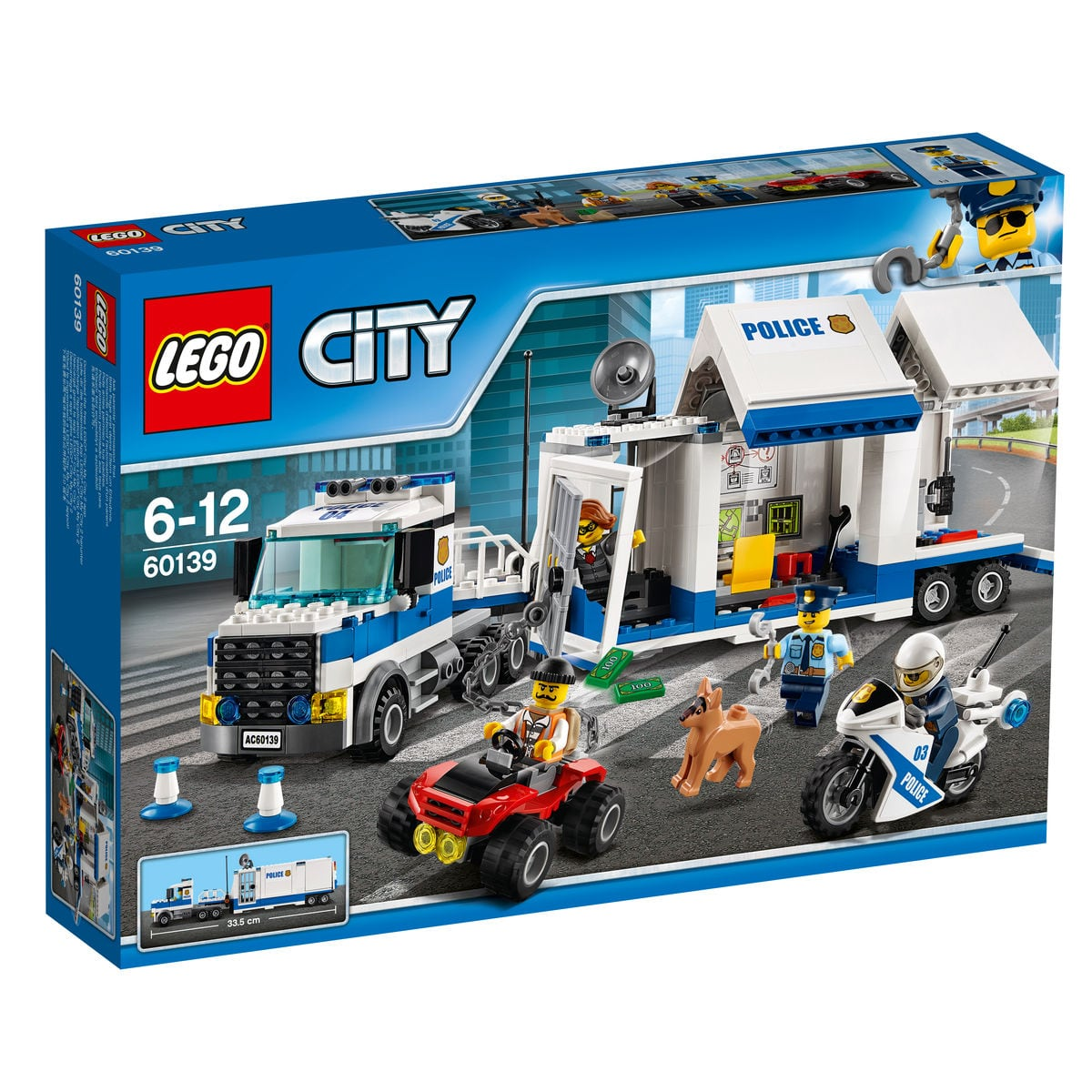 Lego City Centro di comando mobile 60139