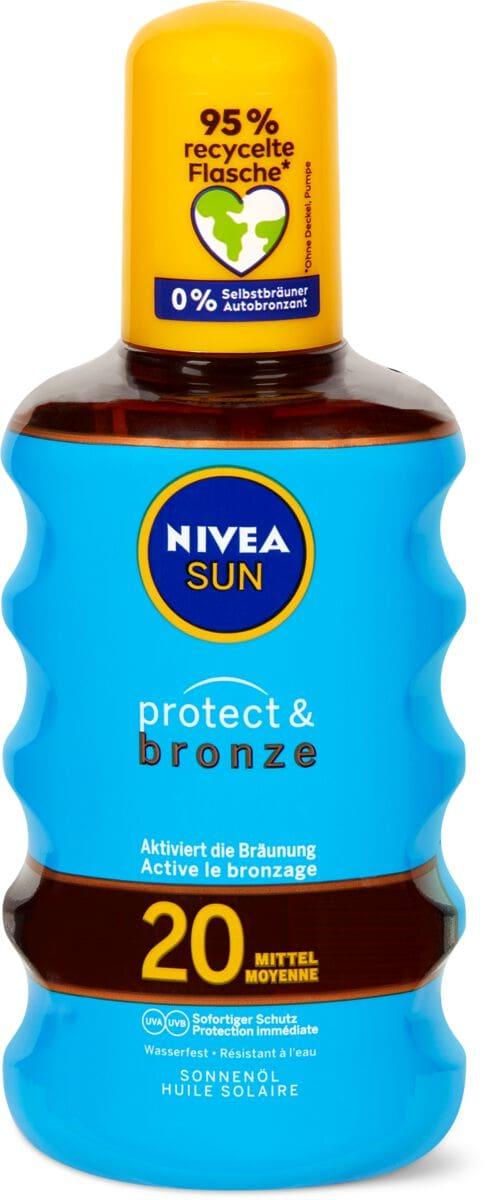 Nivea Sun LSF 20 Protect&Bronze Öl