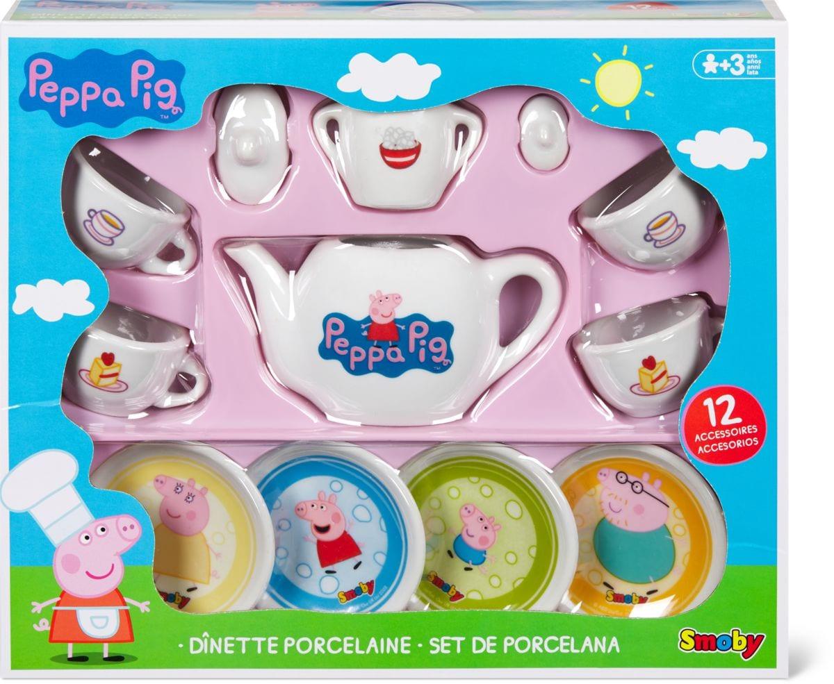 Peppa Pig Service de vaisselle