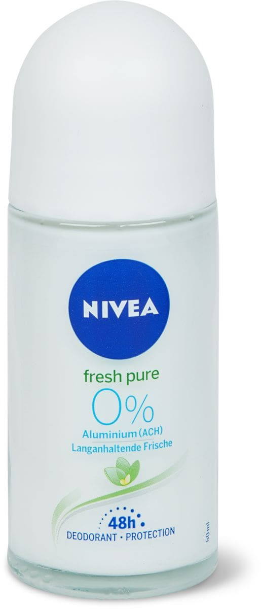 Nivea deo roll-on pure & natural