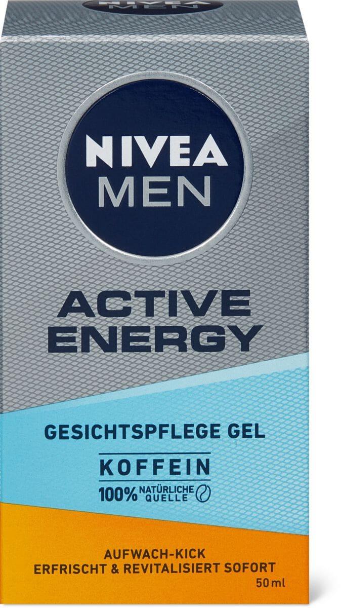 Nivea Men Active Energy gel visage