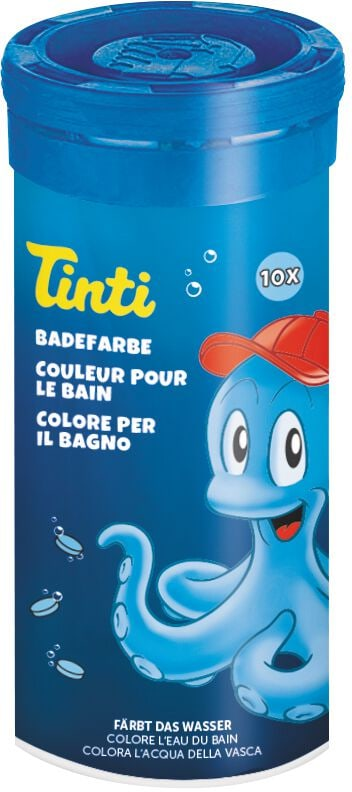 Tinti Badetabletten blau, 10 Stück Basteln