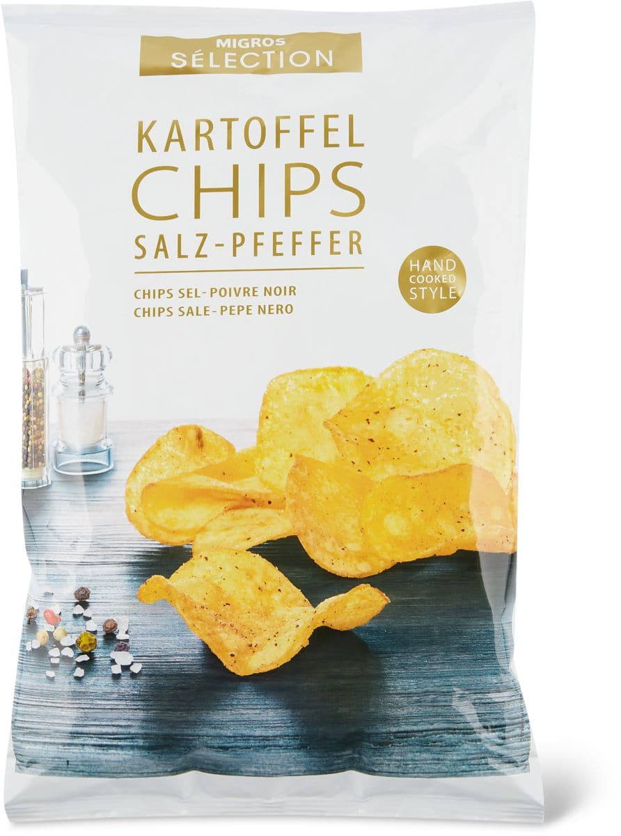Sélection Salt & Pepper Chips