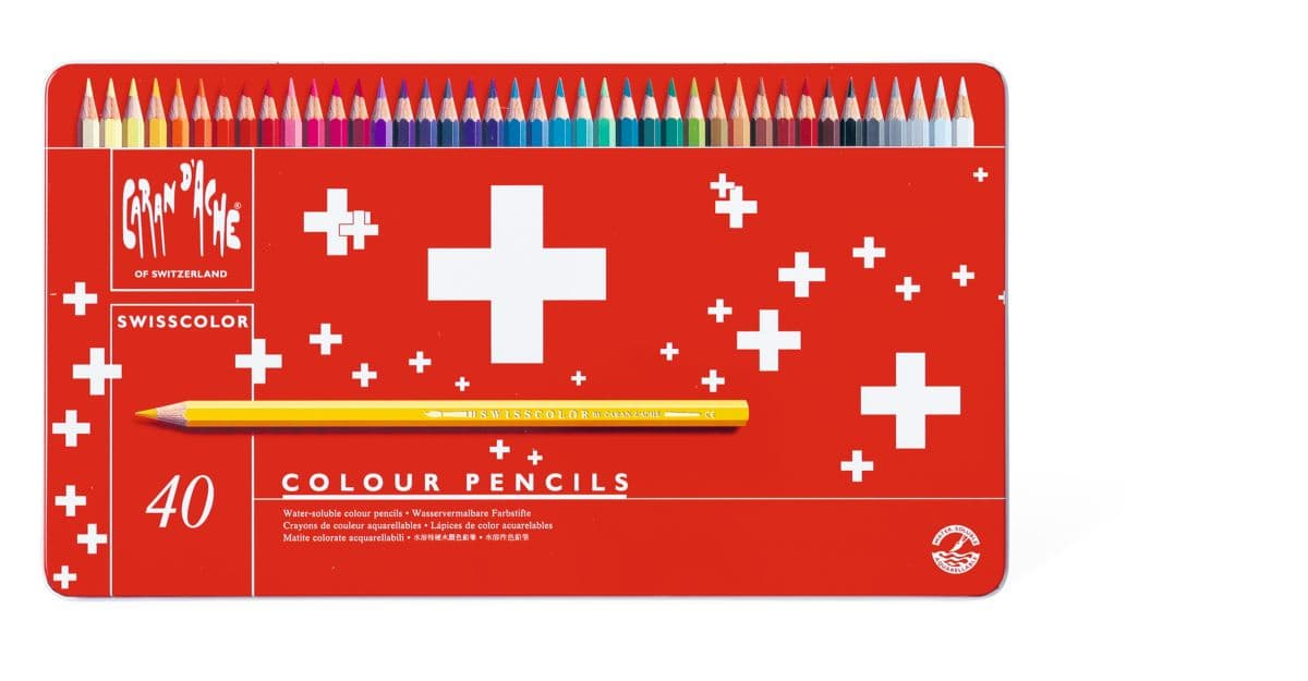 Caran d' Ache Swisscolor Farbstifte